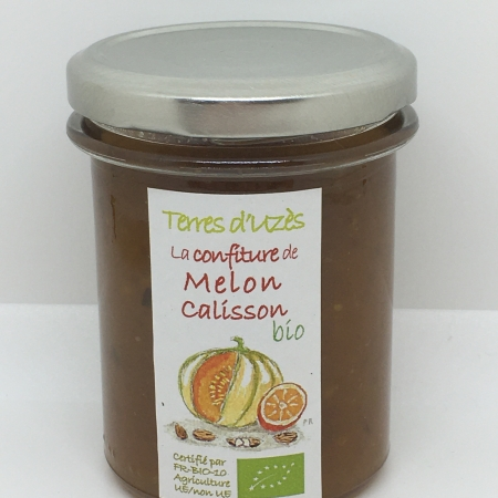Confiture de Melon Calisson bio 200G