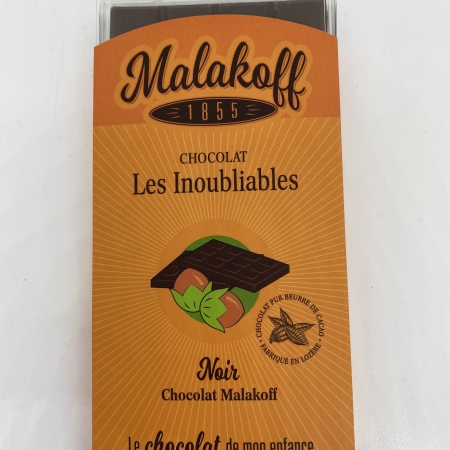 Tablette Noir noisettes 90g